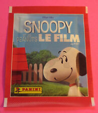 2015 SNOOPY ET LES PEANUTS LE FILM PANINI COLLECTOR STICKERS PACK