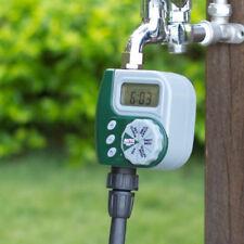 Outdoor Garden Irrigation Controller Solenoid Valve Timer Automatic Water O280HC