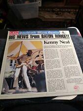 Kenny Neil Big News From Baton rouge Lp album, nm-. Cover, ex. Al 4764.