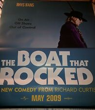 Cinema Banner: THE BOAT THAT ROCKED, 2009 (Gavin) Rhys Ifans January Jones, Used