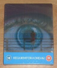 Requiem for a dream (blu-ray) Steelbook. NEW and SEALED (UK release)