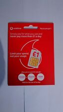 Vodafone PAYG SIM Card MEMORABLE NUMBER 0777* 346111 *NB* *ZERO CREDIT INCLUDED*