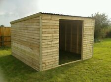 field shelter/stable