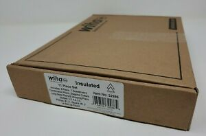New Wiha 32986 11pc Insulated Industrial Pliers/Drivers Set in Roll Out Pouch
