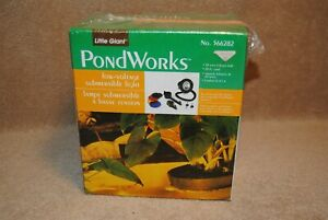 New Little Giant Pond Works Low Voltage Submersible Light No.566282 20W