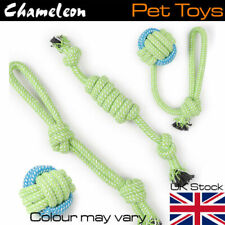 Chew Rope Toys for Dog Durable Cotton Rope Toys Set 4 for Medium and Large Dogs