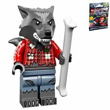 LEGO 71010 MINIFIGURES Series 14 #01 Wolf Guy with unused code