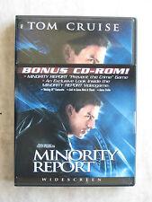 New listing Dvd - Minority Report - Steven Spielberg - Tom Cruise - Philip K Dick