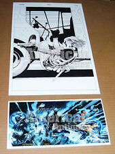 Grifter Ice Cream Truck Print Poster BRAND NEW Travis Charest Trinity Jim Lee