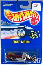 Hot Wheels No. 247 Rigor-Motor Red With Yellow Window Variation BW's MOC 1993