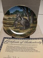 The Bridled Wallaby -Will Nelson- W.S. George Collector Plate