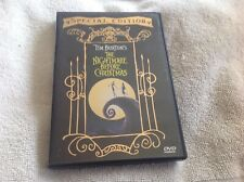 The Nightmare Before Christmas Special edition DVD 2000 widescreen