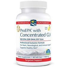 Nordic Naturals ProEpa with Concentrated Gla Fish Oil, Borage Oil 60 Soft Gels