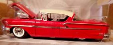 Jada Toys 1958 Chevy Impala 1:24 Red Diecast Car Showroom Floor