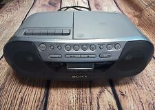 Sony Cfd-S05 Cd Radio Cassette Recorder - Aux In - Cd-R/Cd-Rw Playback Boom Box