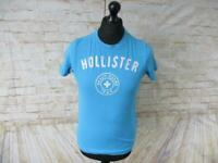 "MENS HOLLISTER CREW NECK T-SHIRT SIZE S 36"" CHEST / REF G0235"