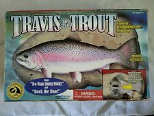 New listing Tested Travis The Singing Trout Singing Fish with Adapter Read Description