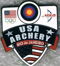 2016 Rio USA Olympic Archery Team NOC Collector Pin