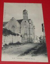 CPA CARTE POSTALE 1900-1905 LOUDUN EGLISE DU MARTRAY VIENNE 86 POITOU CHARENTES