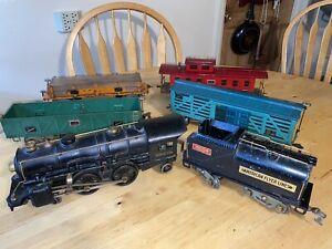 vintage American  flyer 4-4-2 locomotive with tender and SET STANDARD gauge Lot
