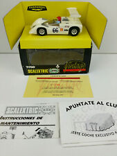 Slot car Scalextric Tyco 8339.09 Chaparral Gt Vintage #66