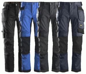 Snickers 6241 AllroundWork Stretch Work Trousers - 4 Colours