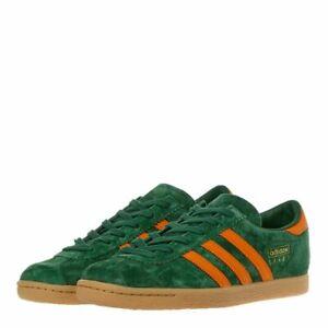 Adidas Stadt Green, Orange & Gold