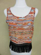 NWT LOVE BLOSSOM FRINGE TOP SIZE XL CUTE