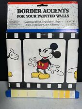 Mickey Mouse Sherwin Williams Wall Border Accent 5 Yards New NOS