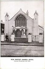 Hayes. New Baptist Church in Middlesex & Buckinghamshire Advertiser Series.