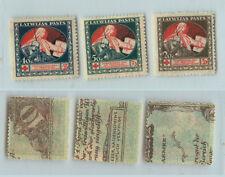 Latvia 🇱🇻 1920 SC B1-B3 mint . rtb1348