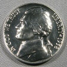 1958 Jefferson Nickel Proof Coin from Roll