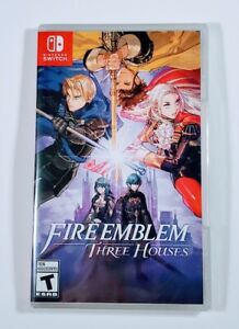 Fire Emblem Three Houses Nintendo Switch 2019 Intelligent Systems New Sealed