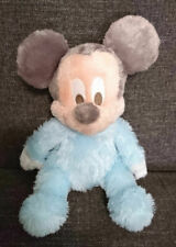"""Disney - Baby - Mickey Mouse - Chime Rattle - Stuffed Animal - 11"""" - Pre-Owned"""