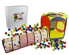 Right Track Toys Play Tent With 100 Balls & Tunnel For Indoor & Outdoor Use