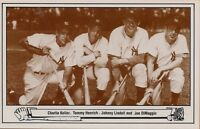 1983 TCMA Postcard # 4 -- 1948 Yankee Batters Picture -- Stock # 3071