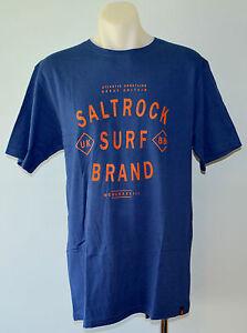 SALTROCK Mens Printed Shirt -  BLUE - SIZES -  M & L  - NEW
