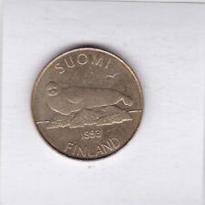 5 Markkaa Finnland 1993 Saimaa Ringelrobbe Seerosenblätter Robbe ringed seal