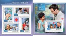 Medicaid Red Cross Medicine Lyndon Johnson Sao Tome and Principe MNH stamp set