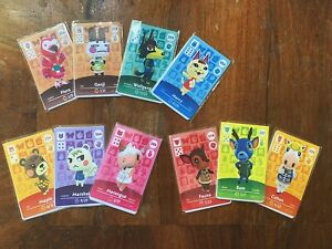 ANIMAL CROSSING AMIIBO CARD, FREE UK SHIPPING, 400 TO CHOOSE FROM!