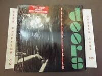 """THE DOORS ALIVE SHE CRIED LP IN SHRINK W/ """"GLORIA"""" HYPE STICKER 60269-1"""