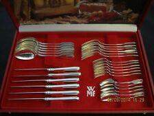 WMF Augsburger Faden Patent 90 Silber 6 Personen 30 Teile Note 2 Besteck TOP