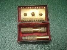 Ancien Rasoir de Sureté METAFAB Made in Switzerland - Antique Shaving Equipment
