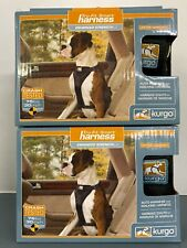 2 Kurgo Tru-Fit Harness- Auto & Walking Harness- Medium 25-50 lbs. New in boxes.