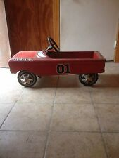 Vintage Amf Dukes Of Hazard Pedal Car