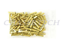 "New MTB Road BMX Bike 7075 Alloy Spoke Nipples 2.0mm 14G 5/8"" 72 Pcs Light Gold"