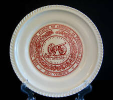 Red River Campaign Val Verde Cannon Red White Plate