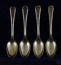 Tipped Sheffield England EPNS Silver Spoons 4 pc.