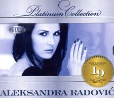 ALEKSANDRA RADOVIC CD Platinum Collection 2010 Mirno more Serbien Kroatien Bosna