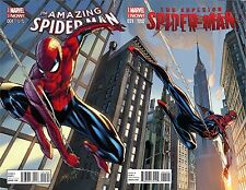 SUPERIOR SPIDERMAN 31 RARE CAMPBELL A & AMAZING 1 B CONNECTING COVER VARIANT SET